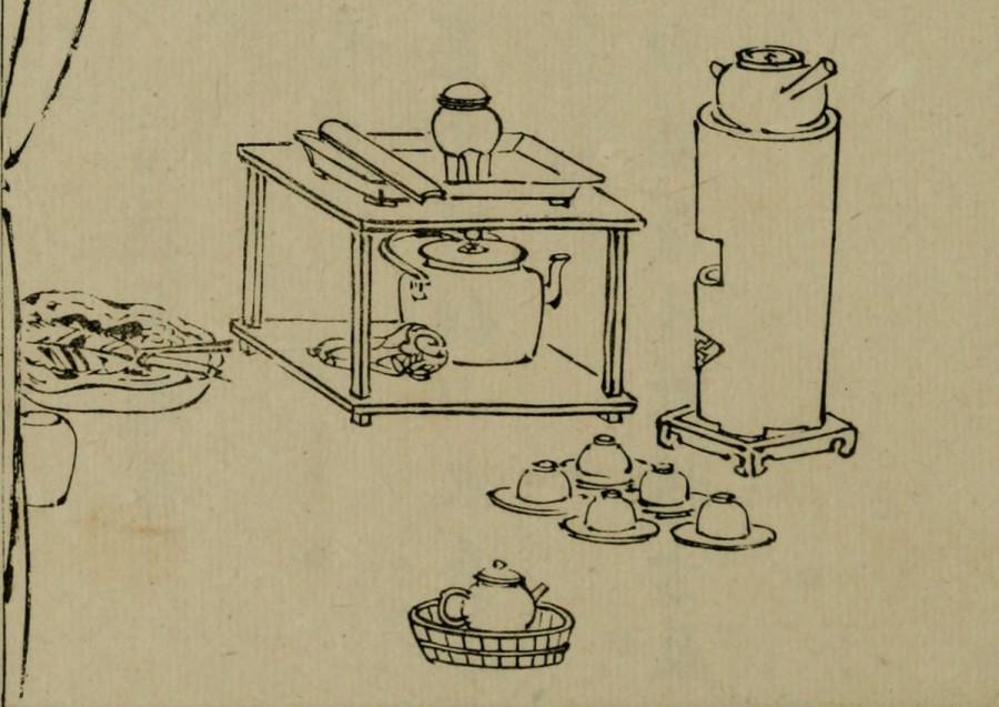 20150228 清赏余录 整理茶席图片 02